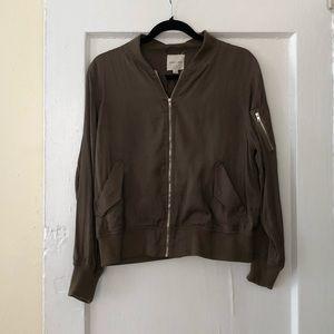 Silence + noise bomber jacket